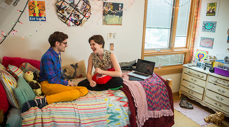 Nice ... Reed College Students In Dorm Room ... Part 15