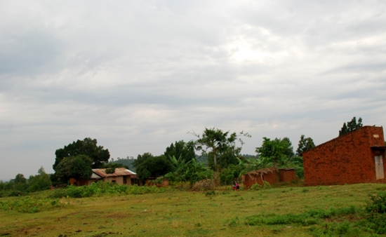 countryside and buildings.