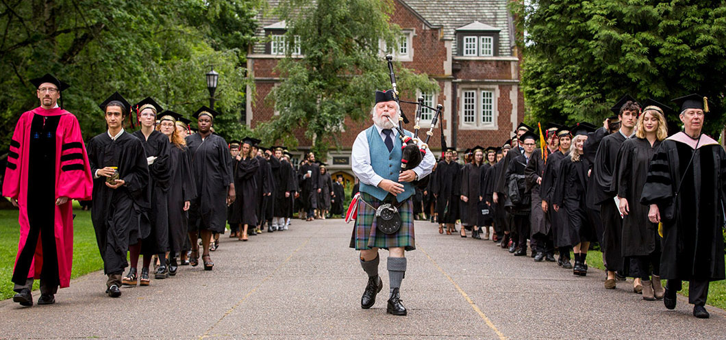 Reed College mencement