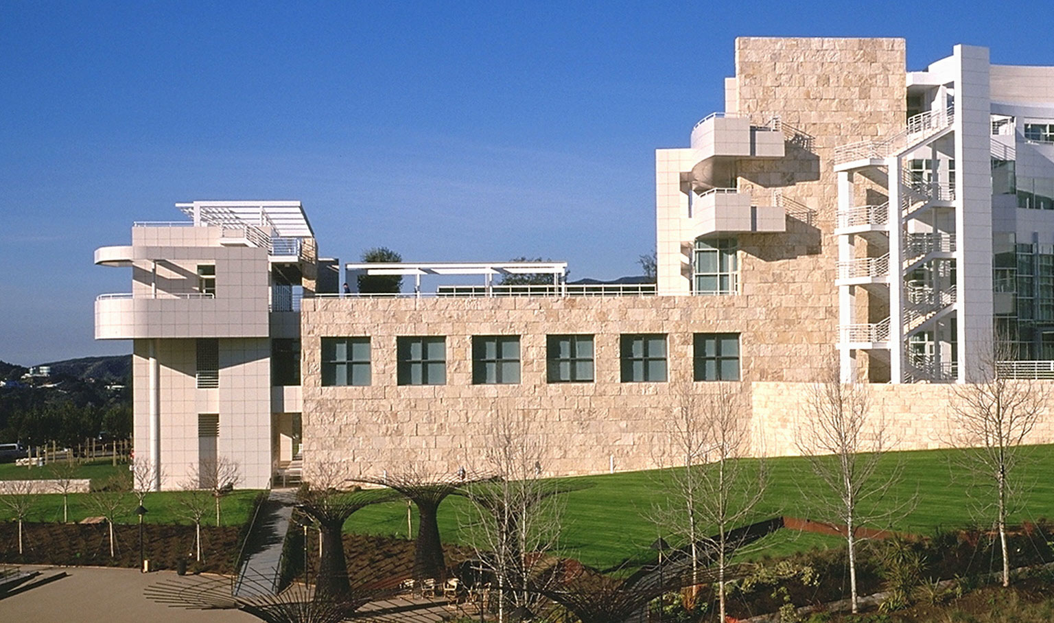 a research on the getty research institute