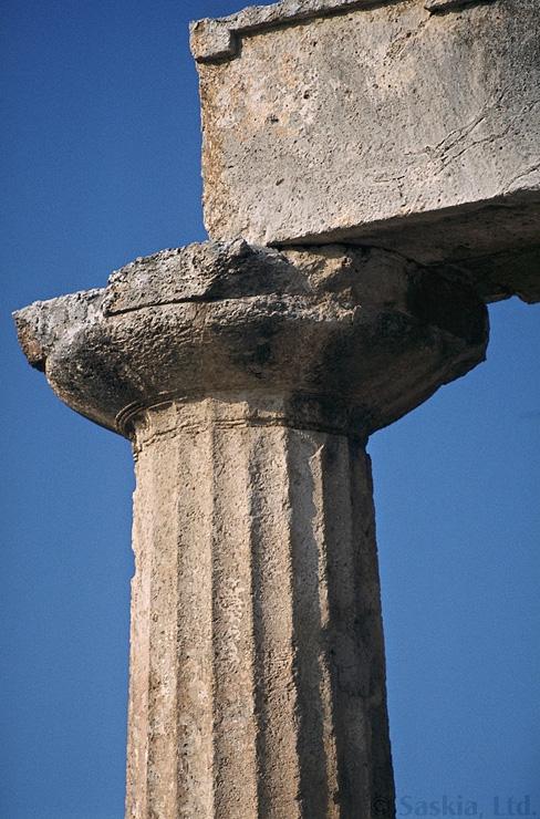 Parthenon for Doric columns