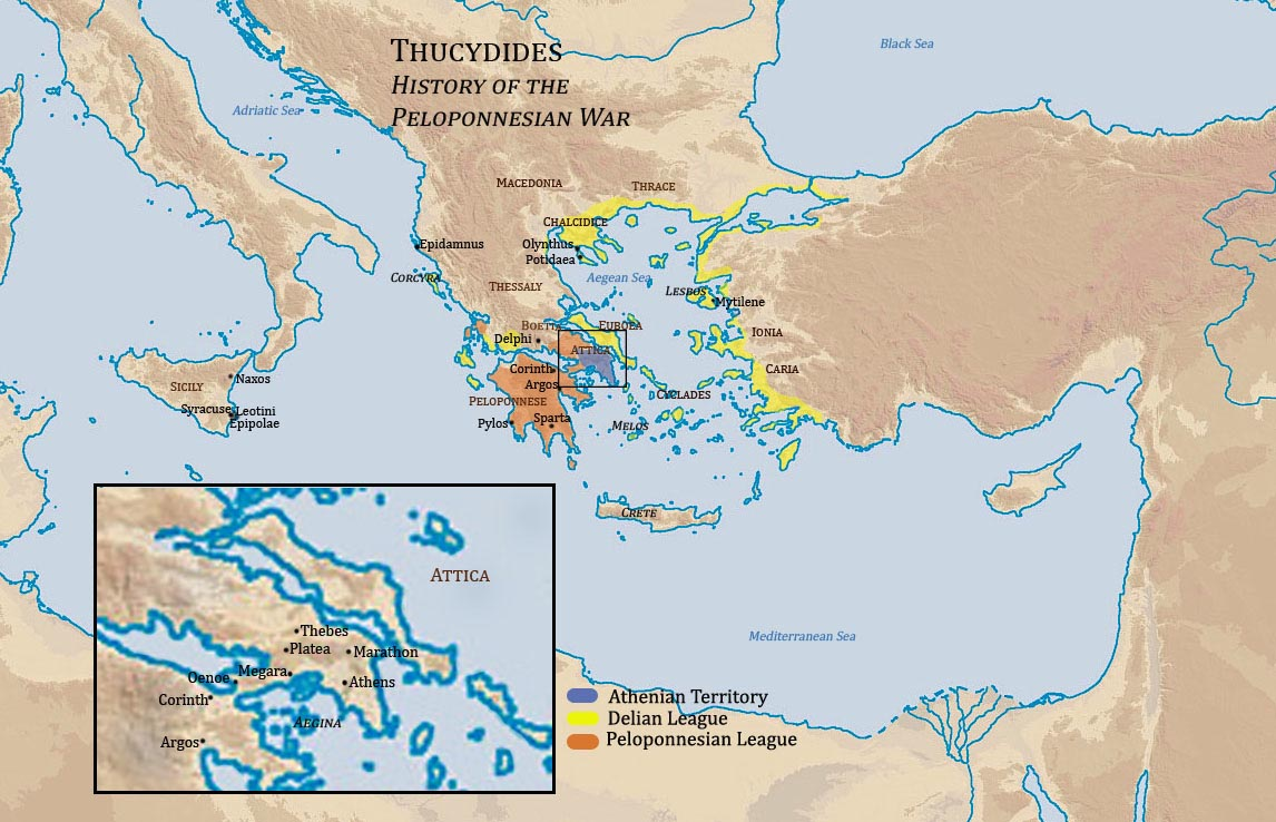 """athenian thesis thucydides Ashbrook statesmanship thesis recipient of the 2008 charles e parton award 1 power and pretext: the status of justice in thucydides caitlin poling introduction thucydides wrote the history of the peloponnesian war """"believing that it would be a great war, and more worthy of relation than any."""