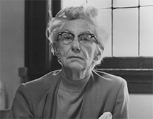 Photo of Prof. Dorothy Johansen '33