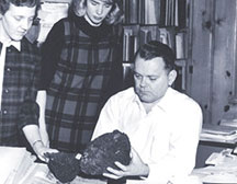 Photo of Prof. David French '39