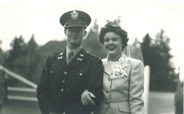 A picture of Dudley Lapham and Constance Sumner Lapham