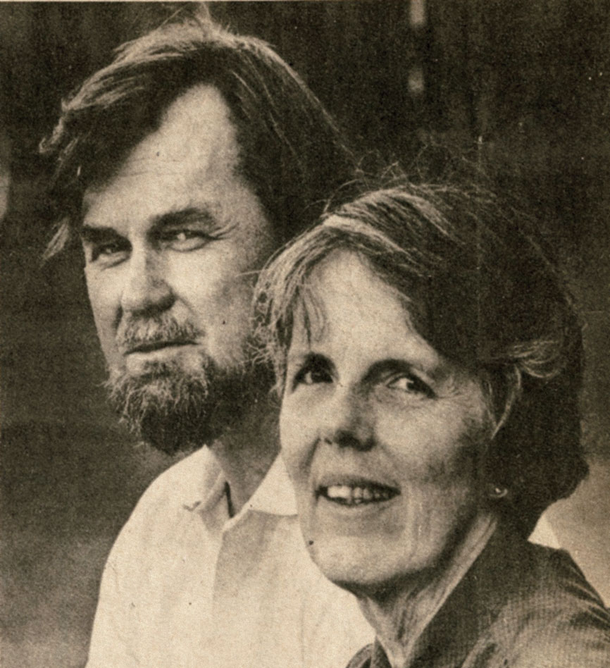 A picture of Dell and Virginia Hymes