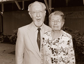 A picture of Hilbert and Calista Unger