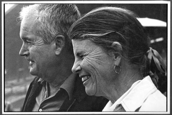 A picture of Howard Morgan and Rosina Corbett Morgan