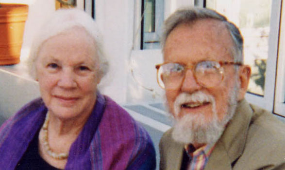 A picture of Katharine Saremal Cornwell and Bruce Cornwell