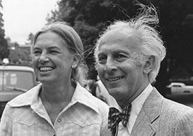 A picture of Doris Felde Avshalomov and Jacob Avshalomov
