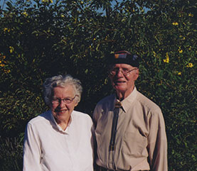 A picture of Helen Wheeler Hastay and Millard Hastay