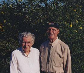 A picture of Helen Wheeler Hastay and Millard Hastay