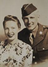 A picture of Margaret Kilbuck Johansen and Andrew Johansen