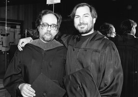Richard Crandall and Steve Jobs