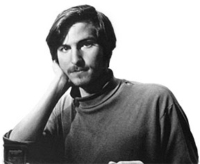Reed student. Reed College student. Steve Jobs.