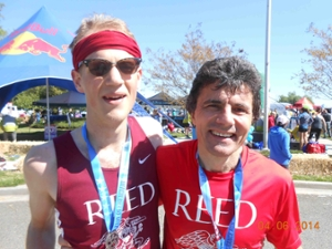Reed College student John Young Ultramarathon running