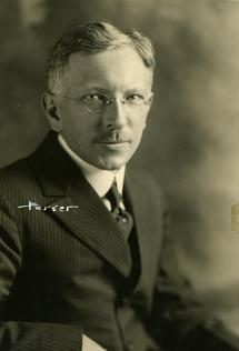 Reed President Richard F. Scholz, ca. 1920;