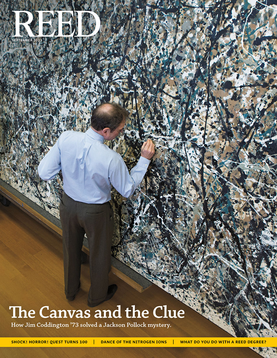 The Canvas And The Clue