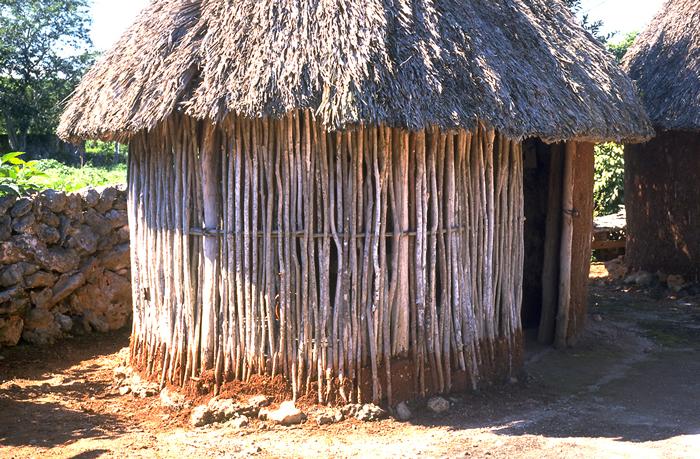 huts domestic buildings